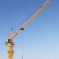 The modern tower crane