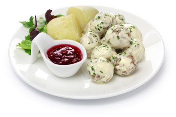 Swedish meatballs, svenska kottbullar