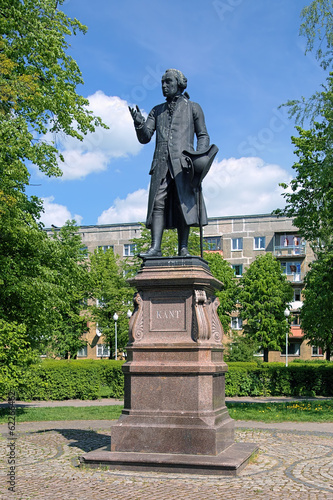 Monument of Immanuel Kant in Kaliningrad, Russia