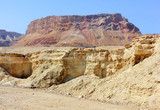 mountainous Judean Desert near the Dead Sea, Israel
