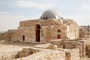 The Umayyad Palace in Amman, Jordan