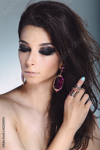 Glamour Fashion Woman Portrait