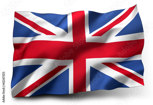 Leinwanddruck Bild flag of the United Kingdom