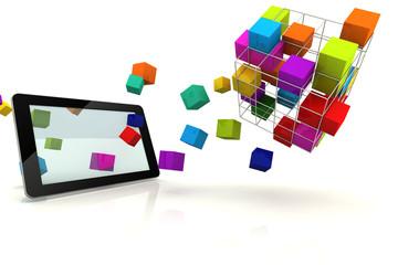 Tablet Extreme Box 3D Render