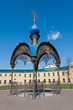 Chapel on the place of finding the Our Lady of Kazan. Kazan. Rus