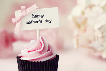 Mother's day cupcake