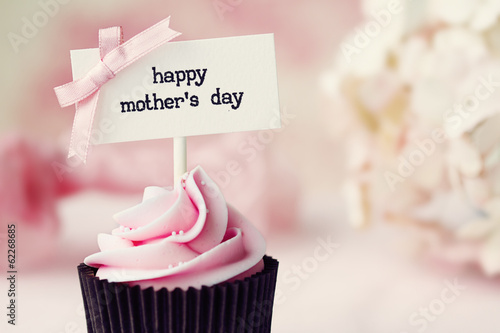 Fototapeta Mother's day cupcake