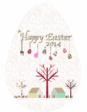 Happy Easter egg 2014