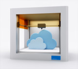 3d printer, printing cloud.