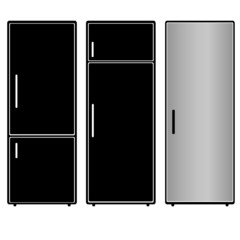 fridge vector illustration