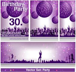 Flyer zum Geburtstag