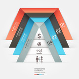 Modern business infographics template.