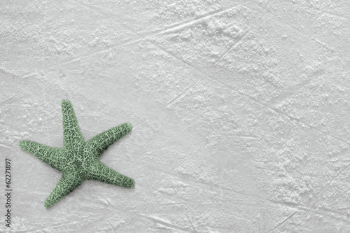 Starfish and ice