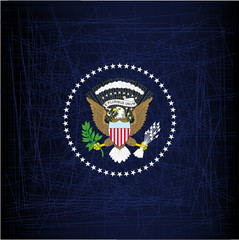 President Seal Eagle