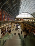 St Pancras Train Station London