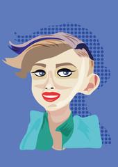 Modern Woman Illustration