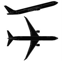 Takeoff  passenger plane