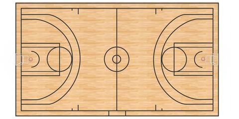 Basketball court  #3