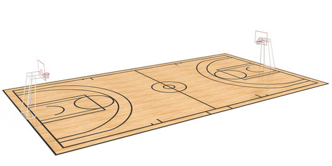 Basketball court #1