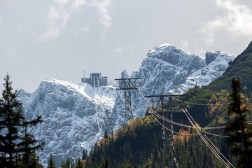 Top Kasprowy in the Polish Tatra Mountains
