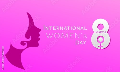 International Women's Day Pink