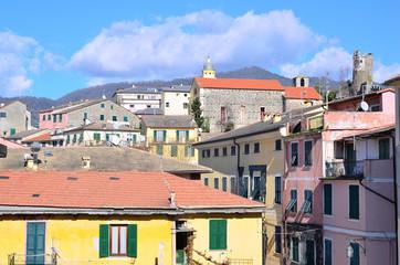 view of Levanto, Italy