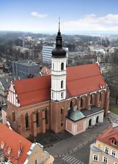 Panorama Opola, Kościół Świętej Trójcy.