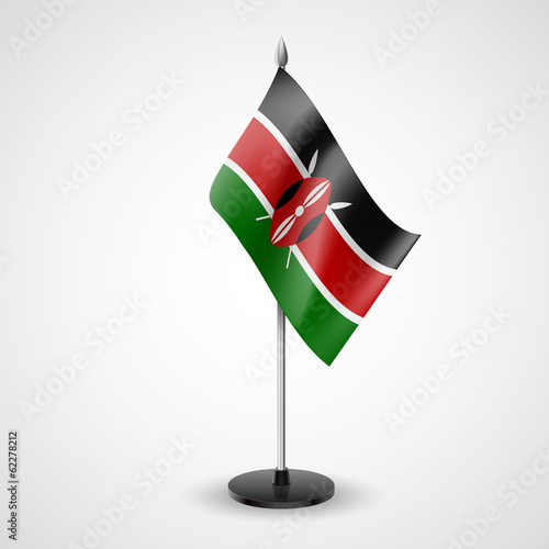 Table flag of Kenya