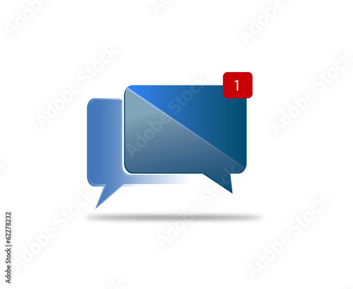 Social  Media Notification Icon
