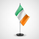 Table flag of Ireland