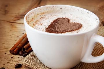 Heart Shape Coffee Cup