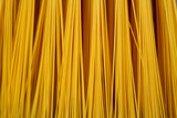 Close-up of a yellow broom