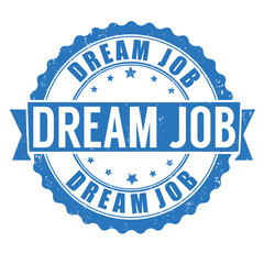 Dream job stamp