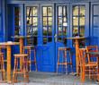 Irish bar exterior