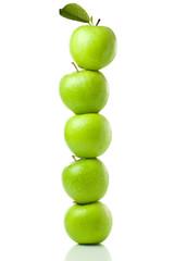 grüne apfel