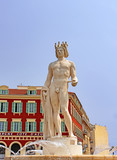 Apollo statue in Nice - France