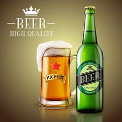 Beer premium quality