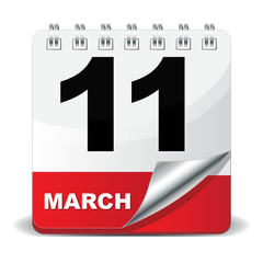 11 MARCH ICON
