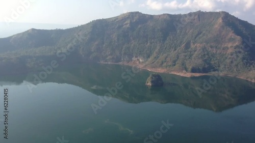 The Taal Volcano Crater Lake