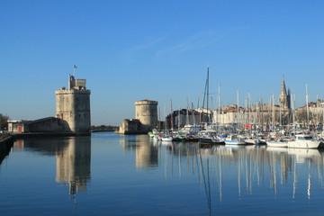 Au vieux port de la Rochelle