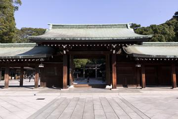 Meiji Jingu Shrine in Central Tokyo