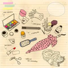 cosmetics goods