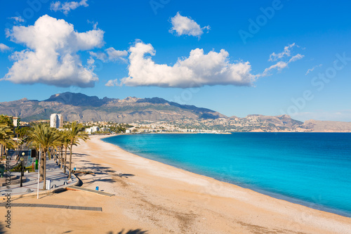 Altea Playa del Albir of white stones in Alicante Spain - 62284446