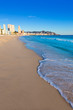 Benidorm Alicante playa de Poniente beach in Spain - 62285044