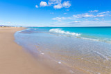 Canet de Berenguer beach in Valencia in Spain