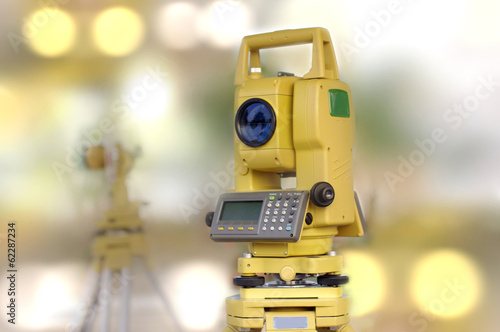 construction and engineering tool, total station - 62287234
