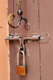 Bolt lock door - vintage style.
