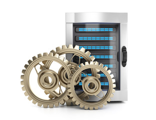 Server and gears