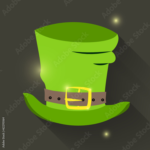 St Patrick Day hat icon