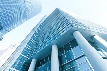 Modern building glass wall